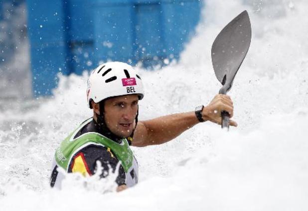 Coupe du monde de canoë-kayak slalom: Mathieu Doby, pour sa course d'adieux, et tous les Belges éliminés après les séries à Pau