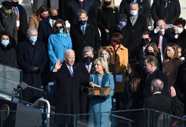 Joe Biden heeft eed afgelegd als 46ste Amerikaanse president