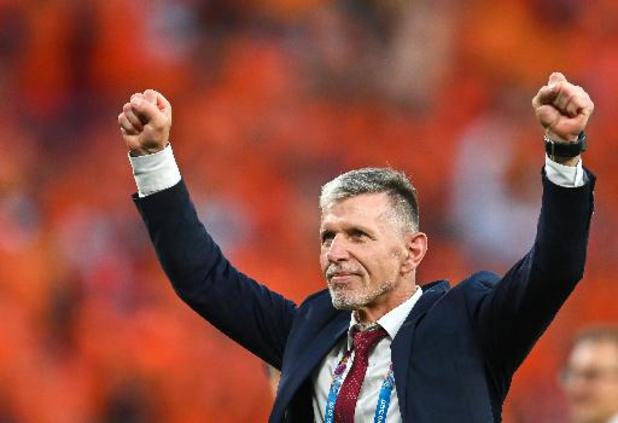 """Euro 2020 - Le coach tchèque estime que le Danemark sera """"beaucoup plus difficile"""" que les Pays-Bas"""