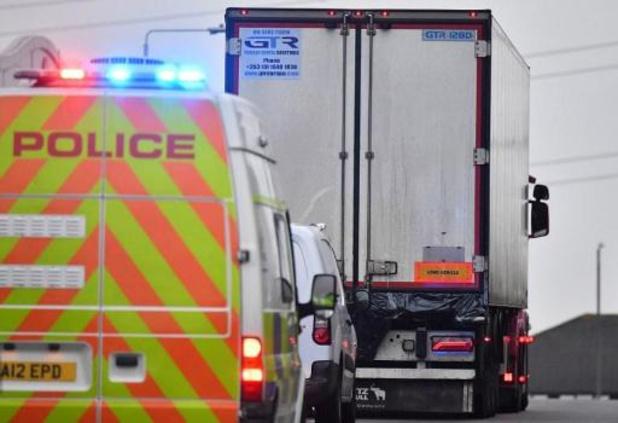 Vrachtwagen met lichamen in Essex passeerde zeker haven Zeebrugge