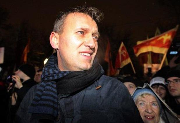Russische dissident Navalny feliciteert Biden