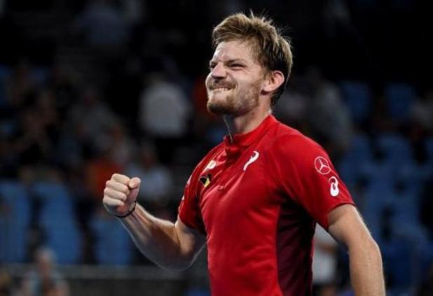 La Belgique en quarts de finale de l'ATP Cup grâce au succès de l'Espagne, un gros duel en perspective