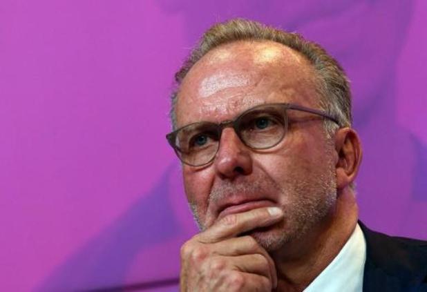 Le président du Bayern Rummenigge s'attend à une baisse des montants de transfert