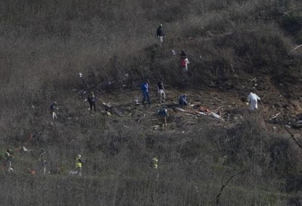Décès de Kobe Bryant - Les neuf corps collectés sur le site de l'accident