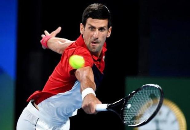 ATP Cup: Djokovic bat Nadal et ramène les deux équipes à égalité, le double sera décisif