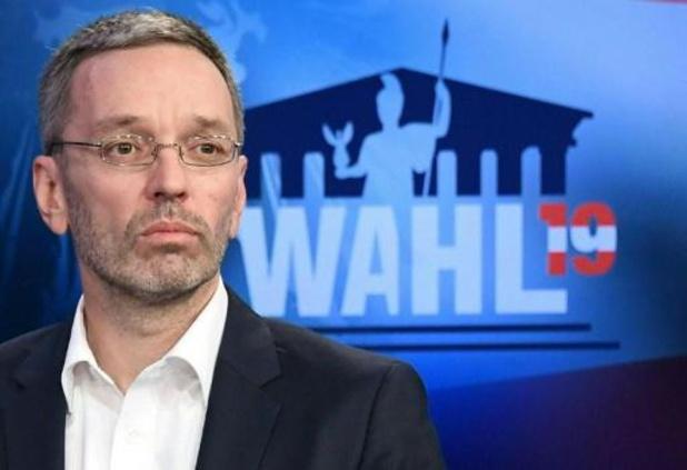 Oostenrijkse extreemrechtse partij FPÖ draagt Herbert Kickl voor als nieuwe leider