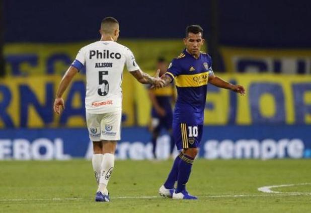 Boca Juniors en Santos houden elkaar in evenwicht in heenwedstrijd halve finale
