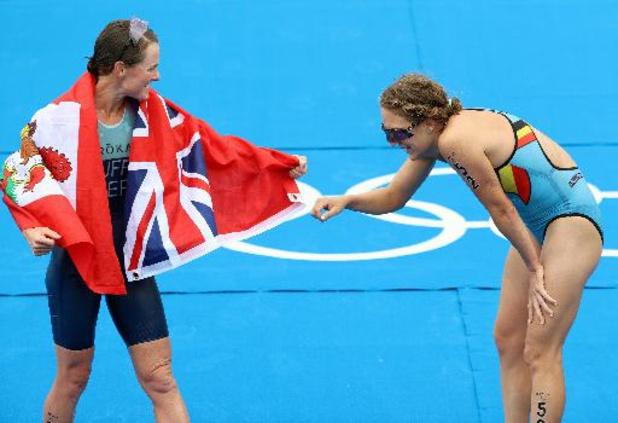 OS 2020 - Flora Duffy pakt goud in triatlon, Barthelemy eindigt tiende, Michel 34e