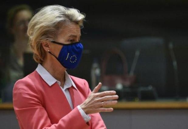 "La présidente de la Commission fera le ""bilan"" avec Boris Johnson"