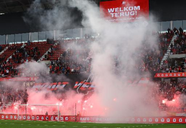 Boetes voor Antwerp, Charleroi en Gent