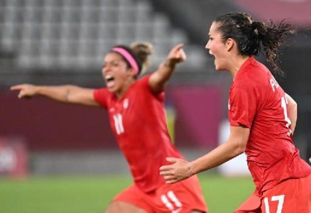 Le Canada élimine les favorites Américaines pour sa première finale olympique
