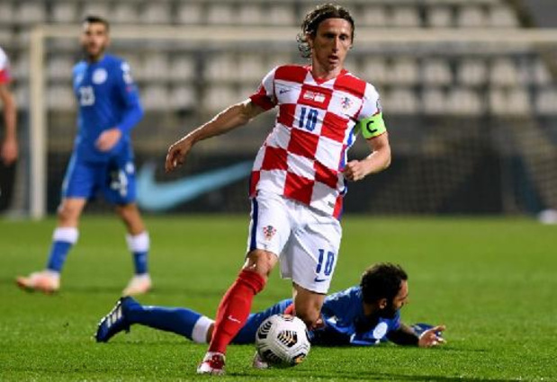Qualifications Mondial 2022 - Modric bat le record d'apparitions en équipe nationale croate