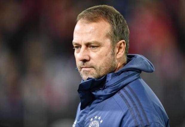 Hansi Flick confirmé à la tête du Bayern Munich jusqu'au terme de la saison