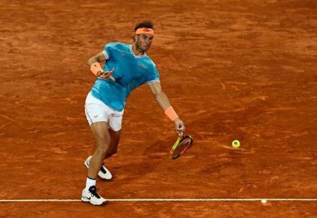 Espagne: tous les tournois de tennis seront disputés à huis clos