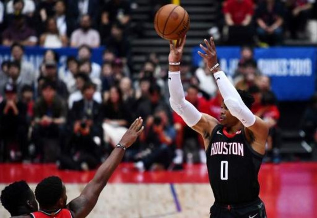 En mode 'small ball', Houston et Russell Westbrook battent les Lakers