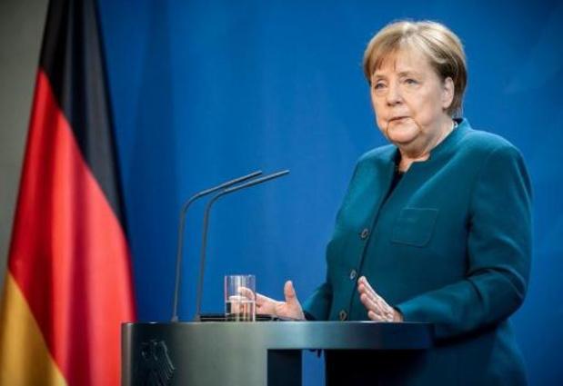 Duitse bondskanselier Merkel uit quarantaine