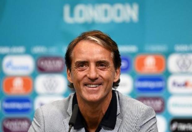 Euro 2020 - Roberto Mancini espère revenir à Wembley après le match contre l'Autriche