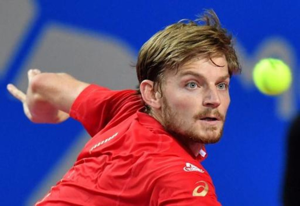 Ultimate Tennis Showdown - David Goffin wint met sudden death van Feliciano Lopez