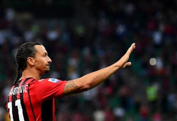 Ibrahimovic, 40 ans dimanche, ne disputera finalement pas les matches avec la Suède