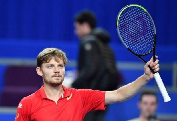 Ultimate Tennis Showdown - David Goffin heeft eerste zege beet