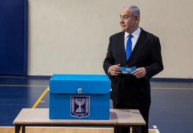 Parlementsverkiezingen Israël - Likoed en Blauw-Wit nek-aan-nek