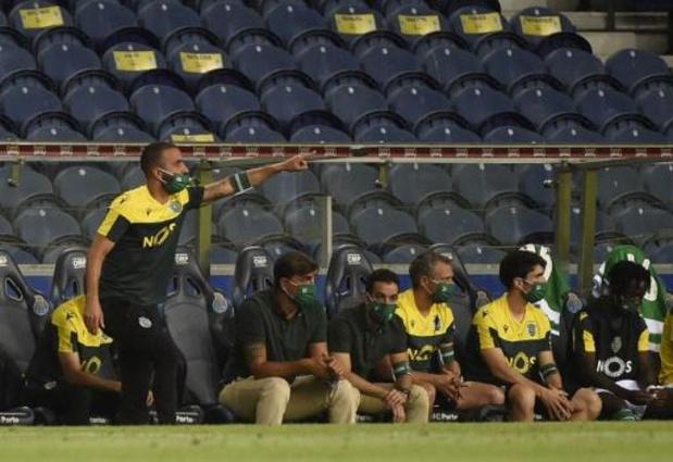 Vlak voor competitiestart tien coronabesmettingen bij Sporting Lissabon