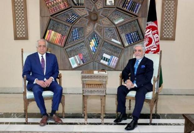 Le négociateur américain rencontre le président afghan à Kaboul