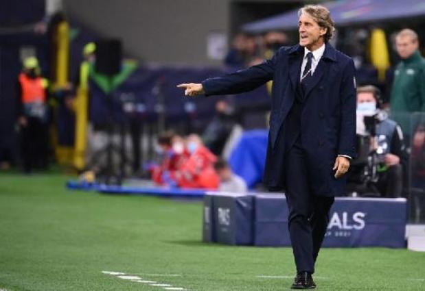 Rode Duivels - Mancini sleutelt aan elftal voor troosting tegen België