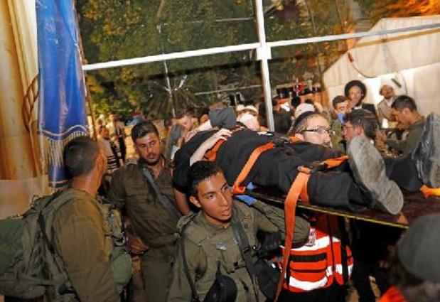 Tientallen gewonden door instorten tribune van synagoge nabij Jeruzalem