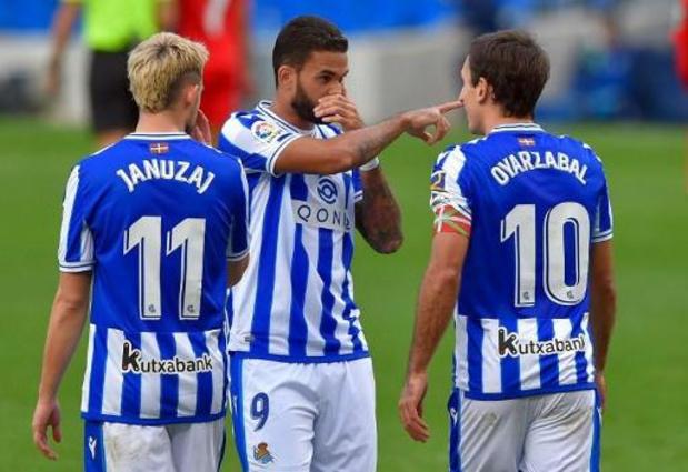 Les Belges à l'étranger - La Real Sociedad et Januzaj éliminés en Coupe du Roi
