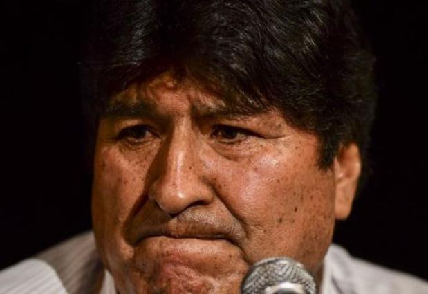 Bolivie: mandat d'arrêt contre l'ex-président Evo Morales