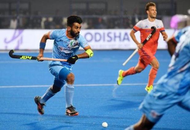 Arthur Van Doren devancé par l'Indien Manpreet Singh comme meilleur joueur mondial
