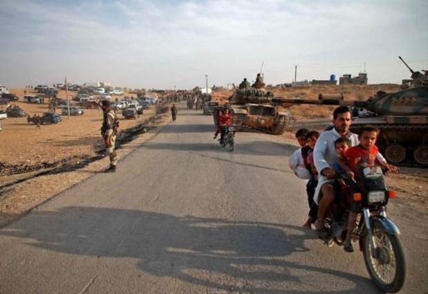 Au moins 160.000 personnes déplacées par l'offensive turque en Syrie, selon l'ONU