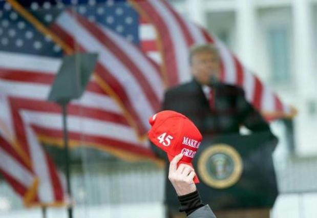 """Trump: """"Nous ne concéderons jamais"""" la défaite"""