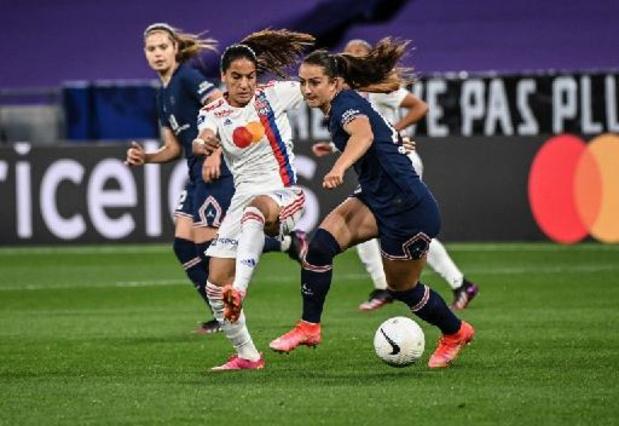 Après 14 titres d'affilée, Lyon cède son titre de champion de foot féminin au PSG