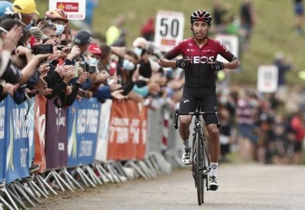 Cosnefroy remporte la dernière étape et Bernal le général