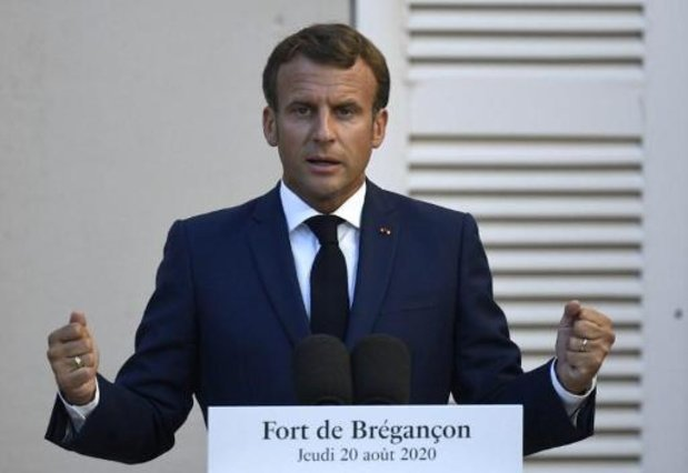 Présidentielle au Bélarus: Macron propose une médiation de l'UE