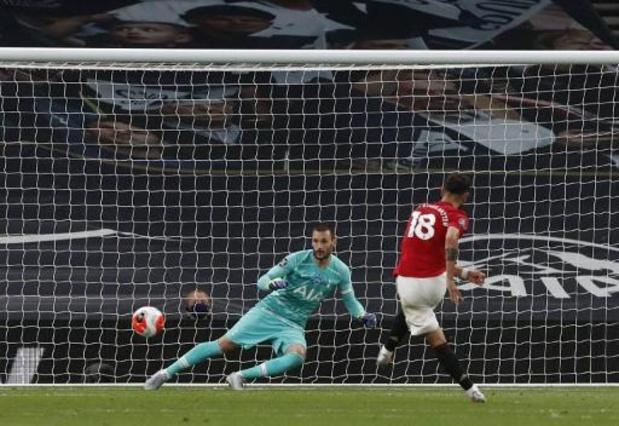 Premier League - Tottenham et Manchester United se quittent sur un partage