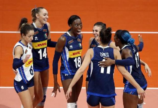EK volley (v) - Italiaanse vrouwen troeven Servië af en veroveren 3e titel