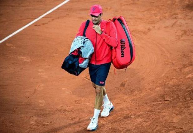 Roland-Garros - Roger Federer déclare forfait pour son huitième de finale