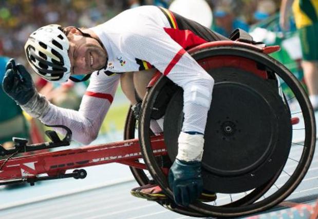 Brussels GP - Le paralympique Peter Genyn batt son record du monde du 100 m