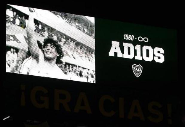 Décès de Diego Maradona: le psychologue membre de l'équipe soignante entendu par la justice