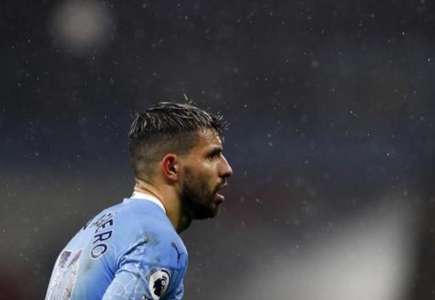 Sergio Agüero (Manchester City) testé positif