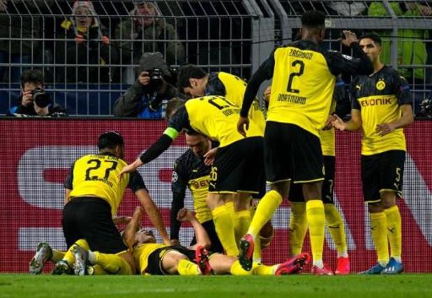 Ligue des Champions - Dortmund et l'Atletico créent l'exploit face au PSG et à Liverpool en 8es de finale aller