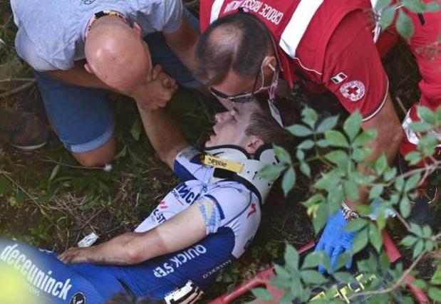 """Ronde van Lombardije - Lefevere: """"Remco zal veel naar tv moeten kijken, maar hij kan tenminste nog kijken"""""""