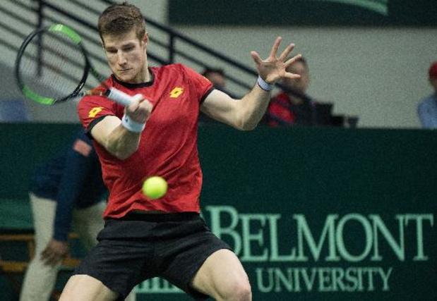 Joris De Loore éliminé au 1er tour du tournoi de tennis Challenger de Murcie