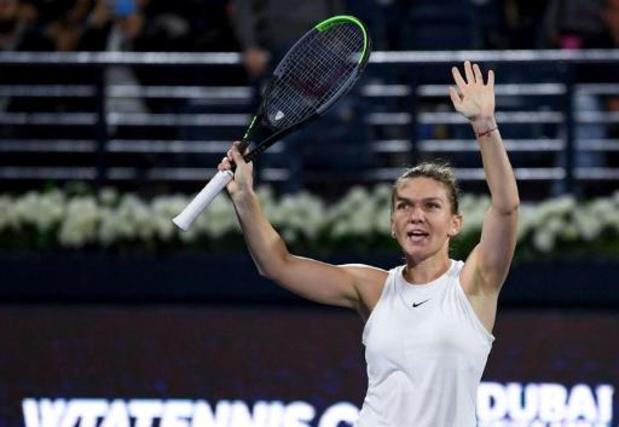 WTA Prague - Simona Halep rejoint Elise Mertens en finale
