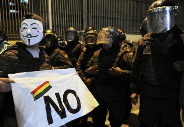 """President Morales vergelijkt algemene staking met """"staatsgreep"""""""