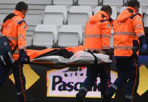 Dante, capitaine de l'OGC Nice, victime d'une rupture du ligament croisé