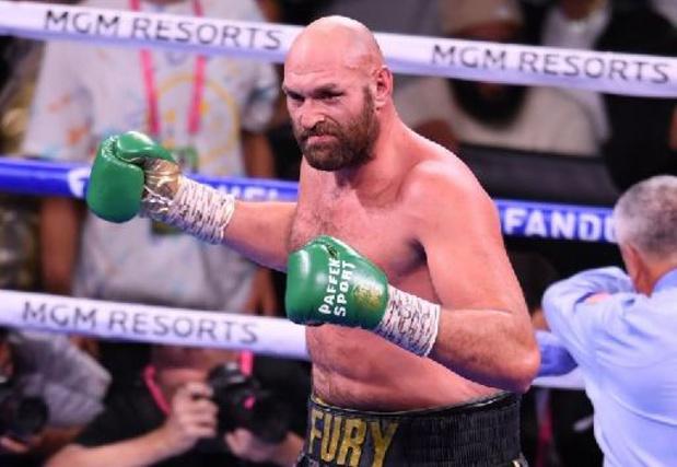 """""""Je suis le plus grand combattant de mon époque"""", affirme Fury"""